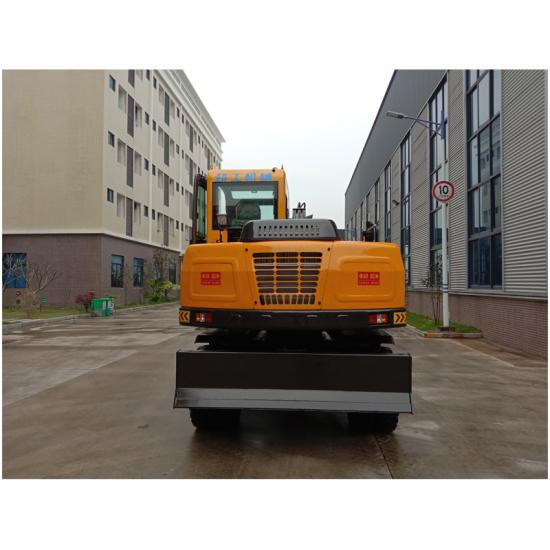 Jing Gong 75S-9 small wheel excavator