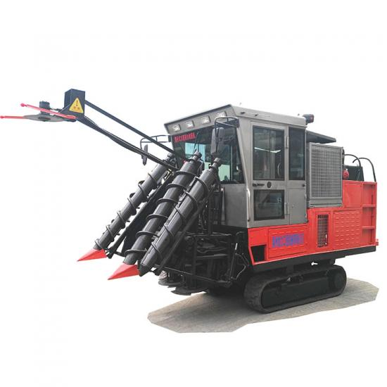 Jing Gong crawler type whole stalk sugar cane combine harvester